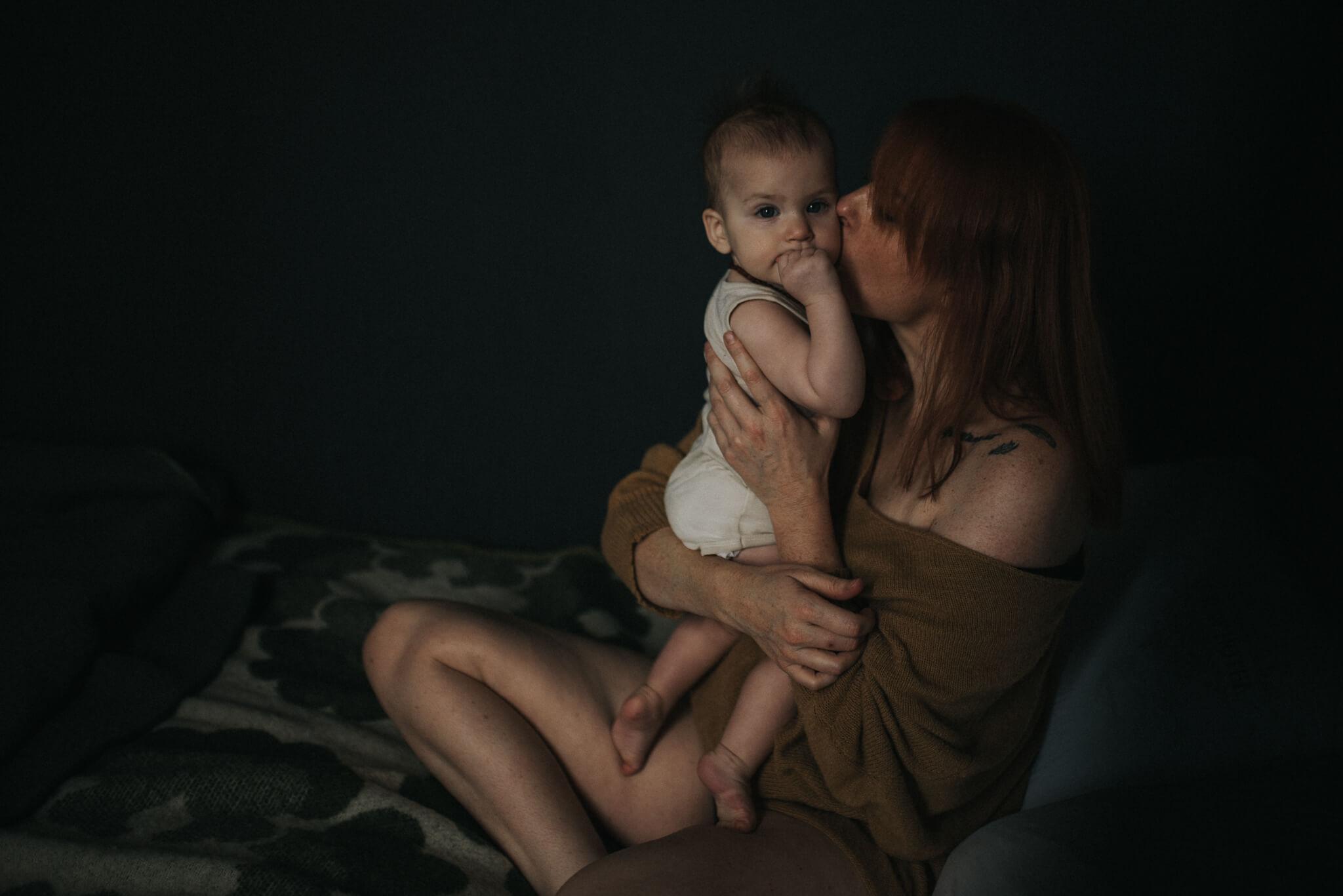 Lifestyle moeder kind shoot