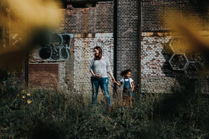 stoere zwangerschapsfotografie nijmegen birth day geboortefotografie