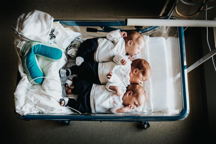 geboortefotografie drieling Nijmegen Birth Day geboortefotografie