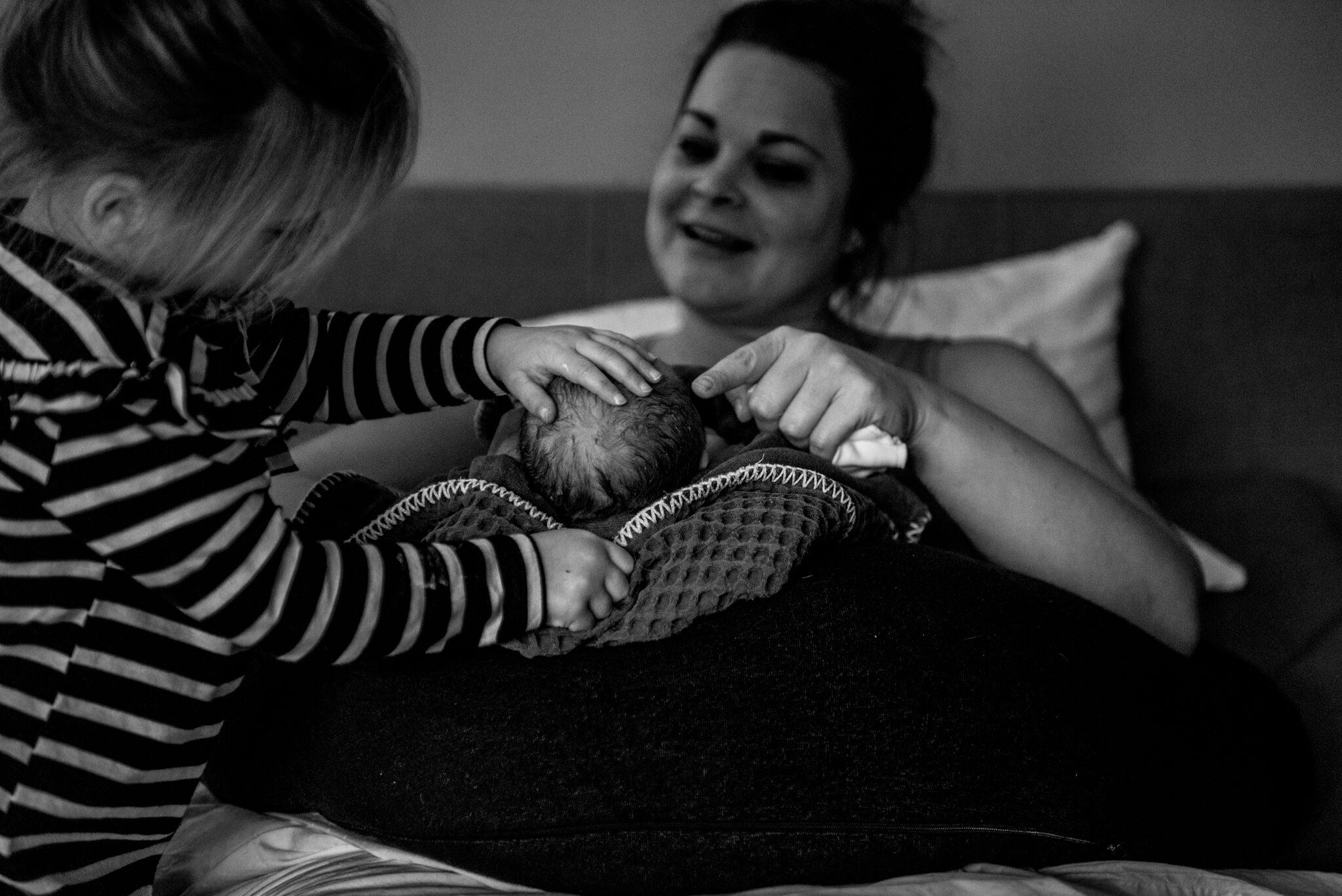 Geboortefotografie Nijmegen familie
