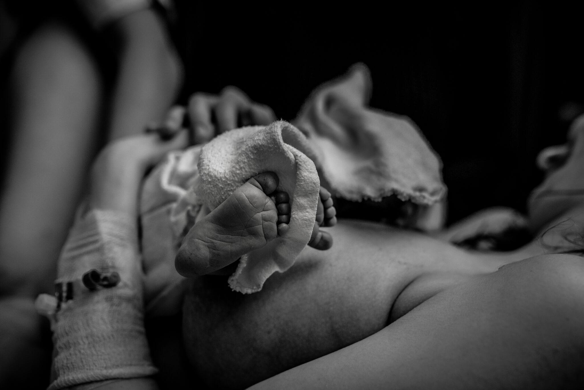 geboortefotografie boxmeer voetjes