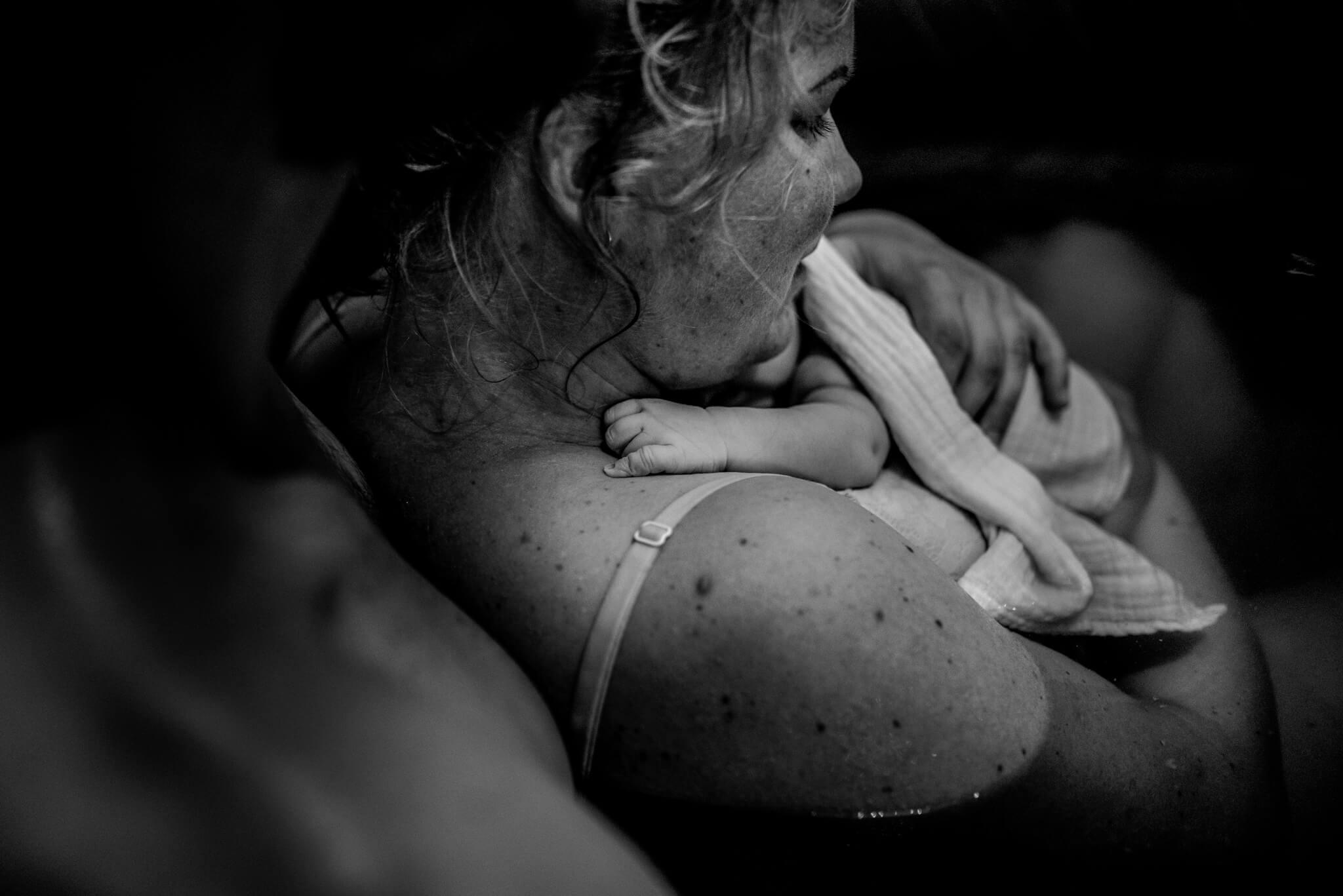 geboortefotografie Arnhem badbevalling