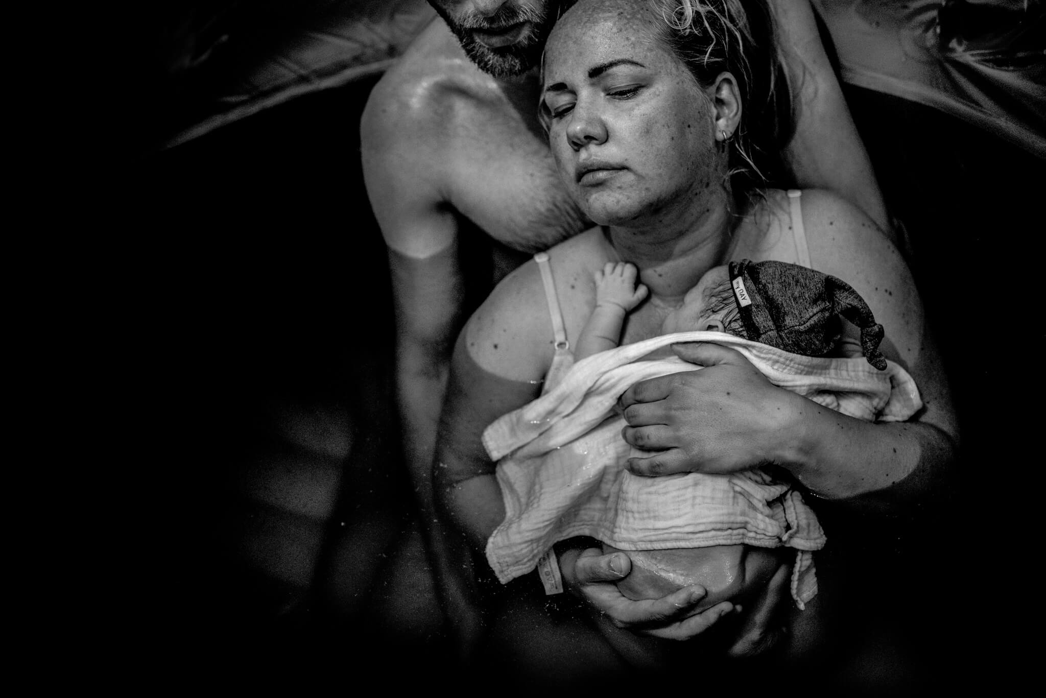 geboortefotografie Arnhem badbevalling Birth Day geboortefotografie