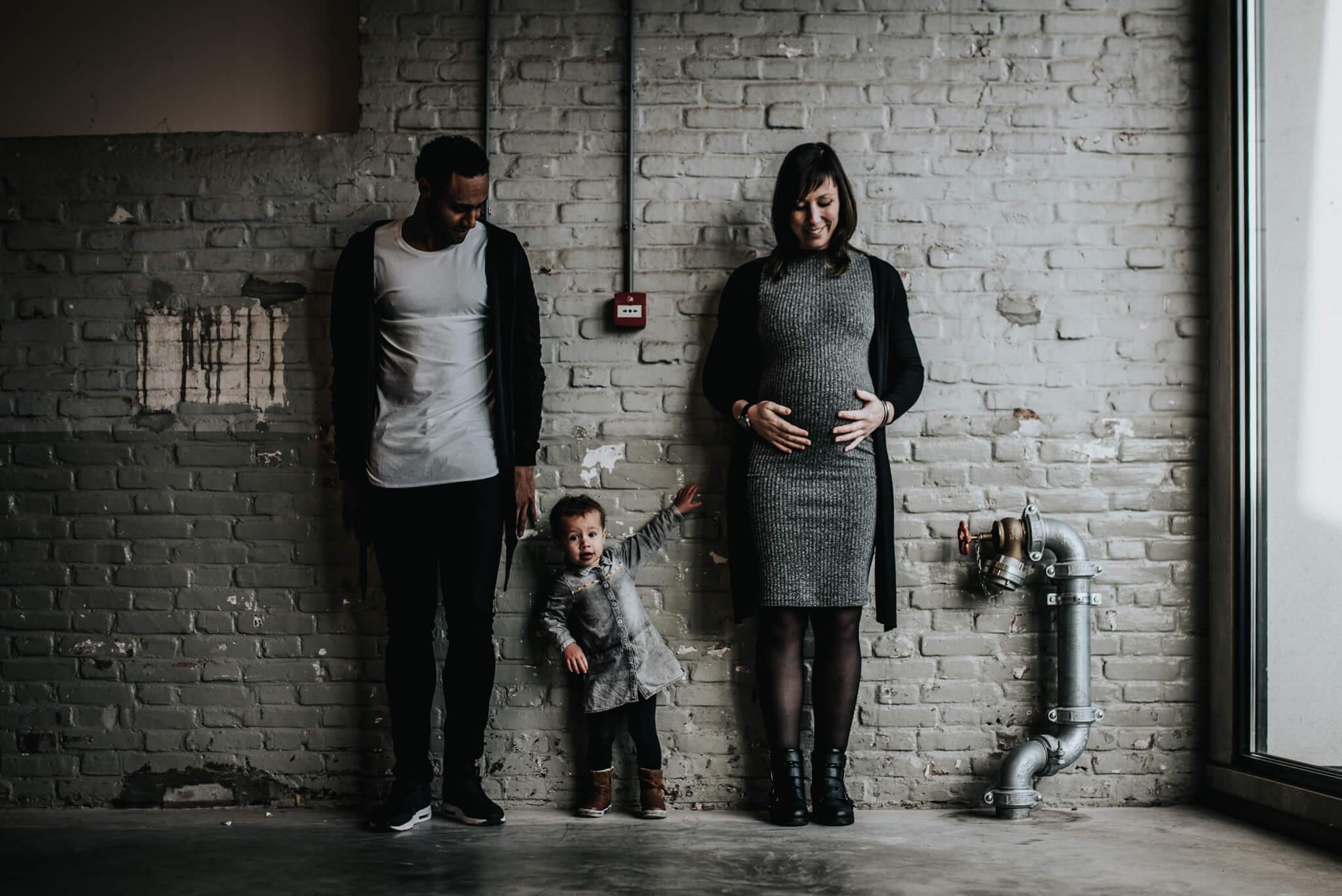 Stoere zwangerschapsfotografie Cindy Willems Birth Day geboortefotografie