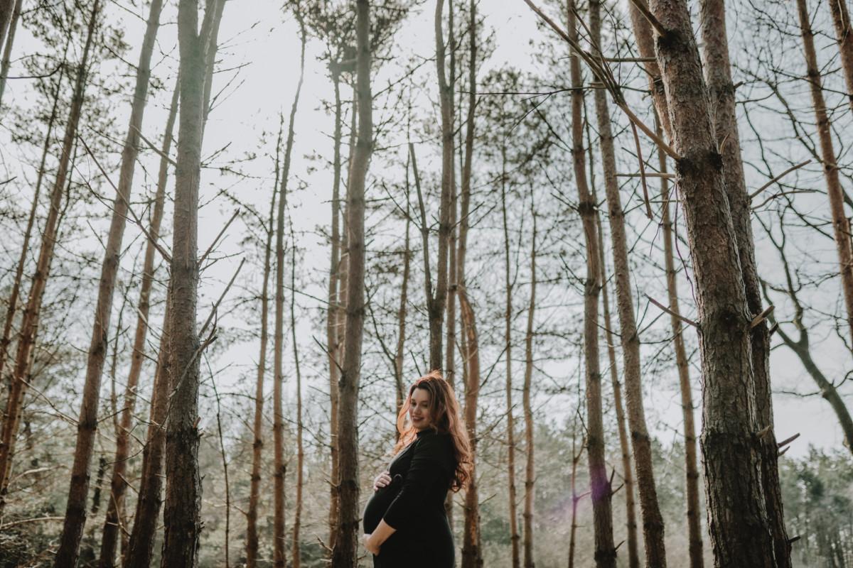 stoere zwangerschapsfotografie Mill