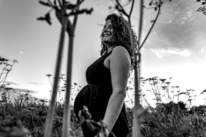 Stoere zwangerschapsreportage Den Bosch
